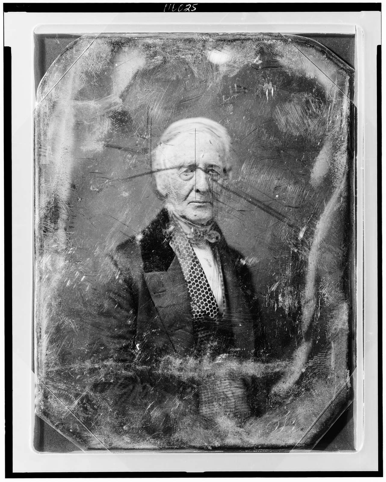 [Stephen Whitney, half-length portrait, three-quarters to the right, facing front, wearing figured waistcoat]