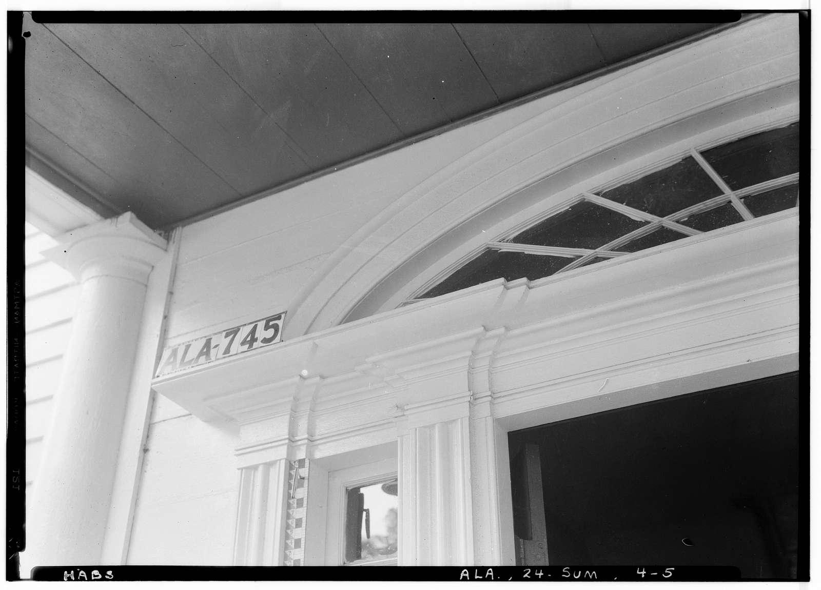 Sturdivant-Moore-Hartley House, Centenary & Main Streets, Summerfield, Dallas County, AL