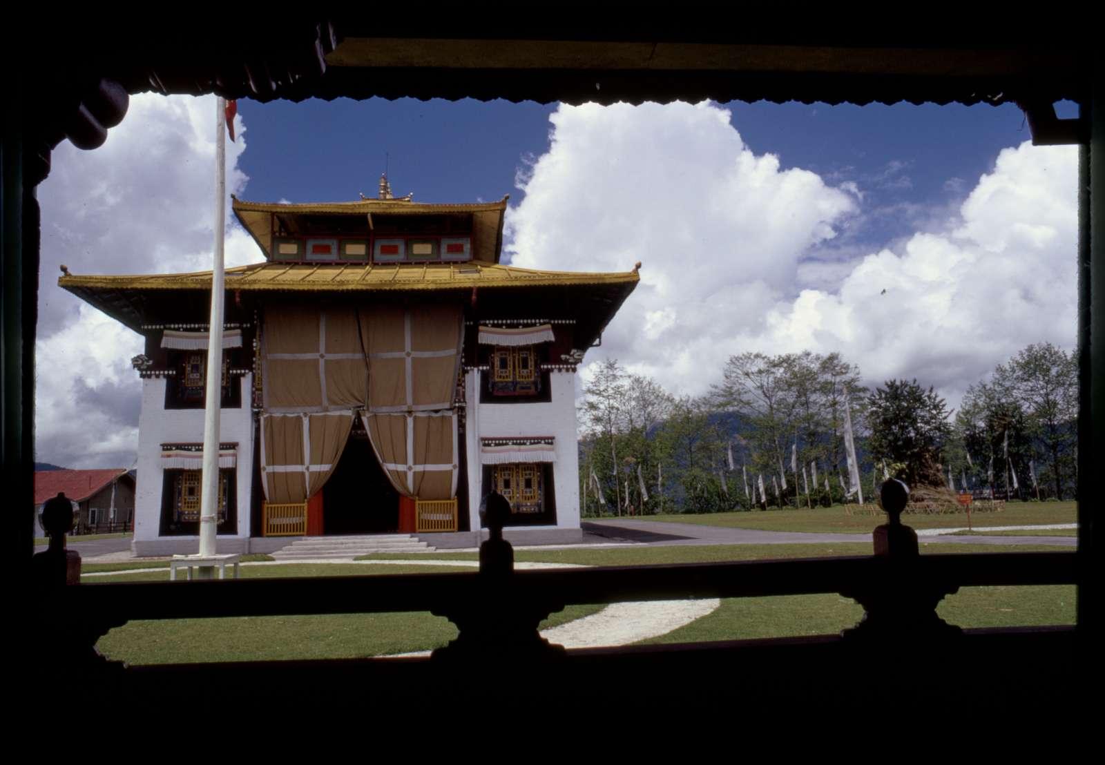 [Tsuklakhang Main Temple (Palace Temple), Gangtok, Sikkim]