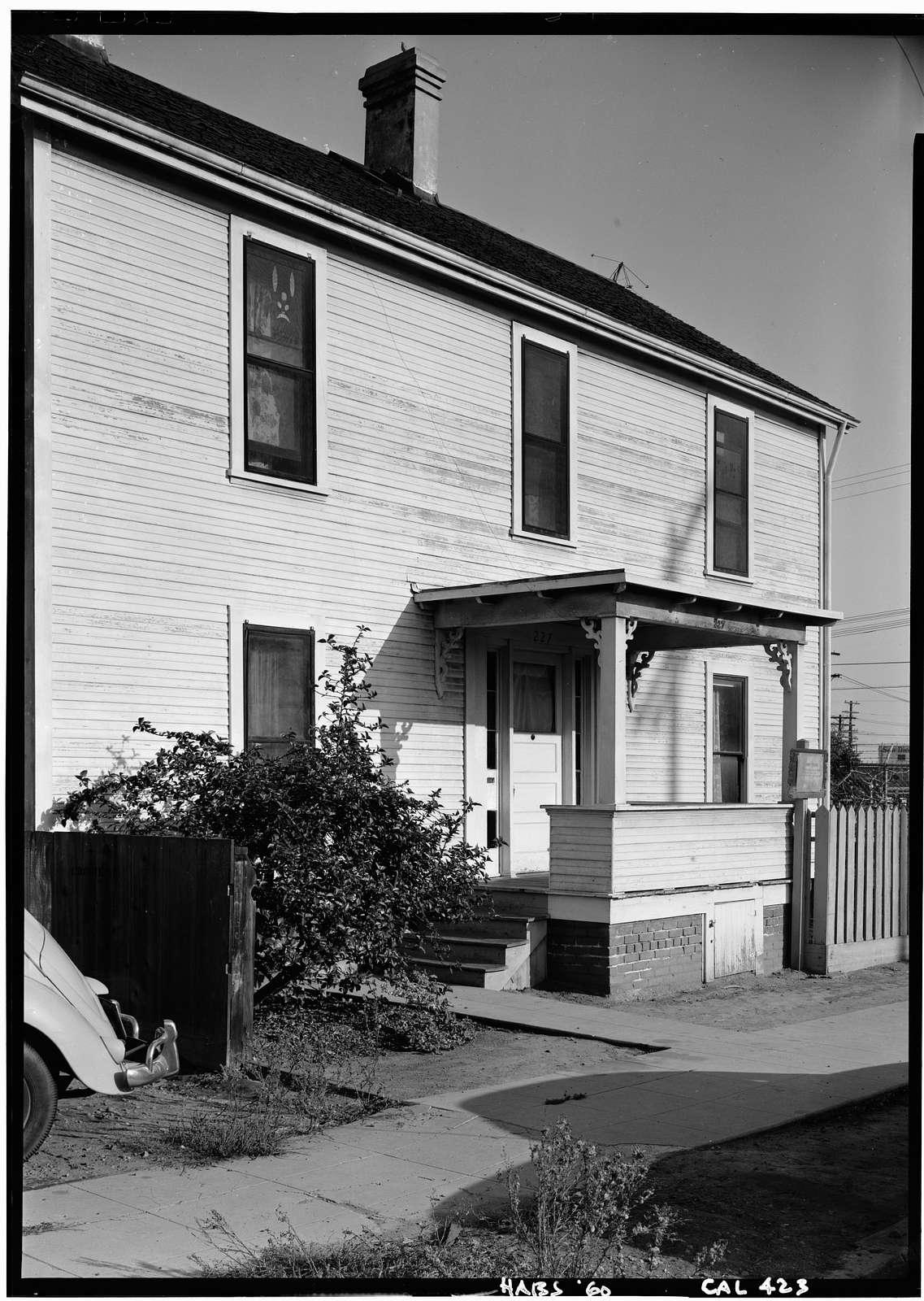 William Heath Davis House, 227 Eleventh Avenue, San Diego, San Diego County, CA