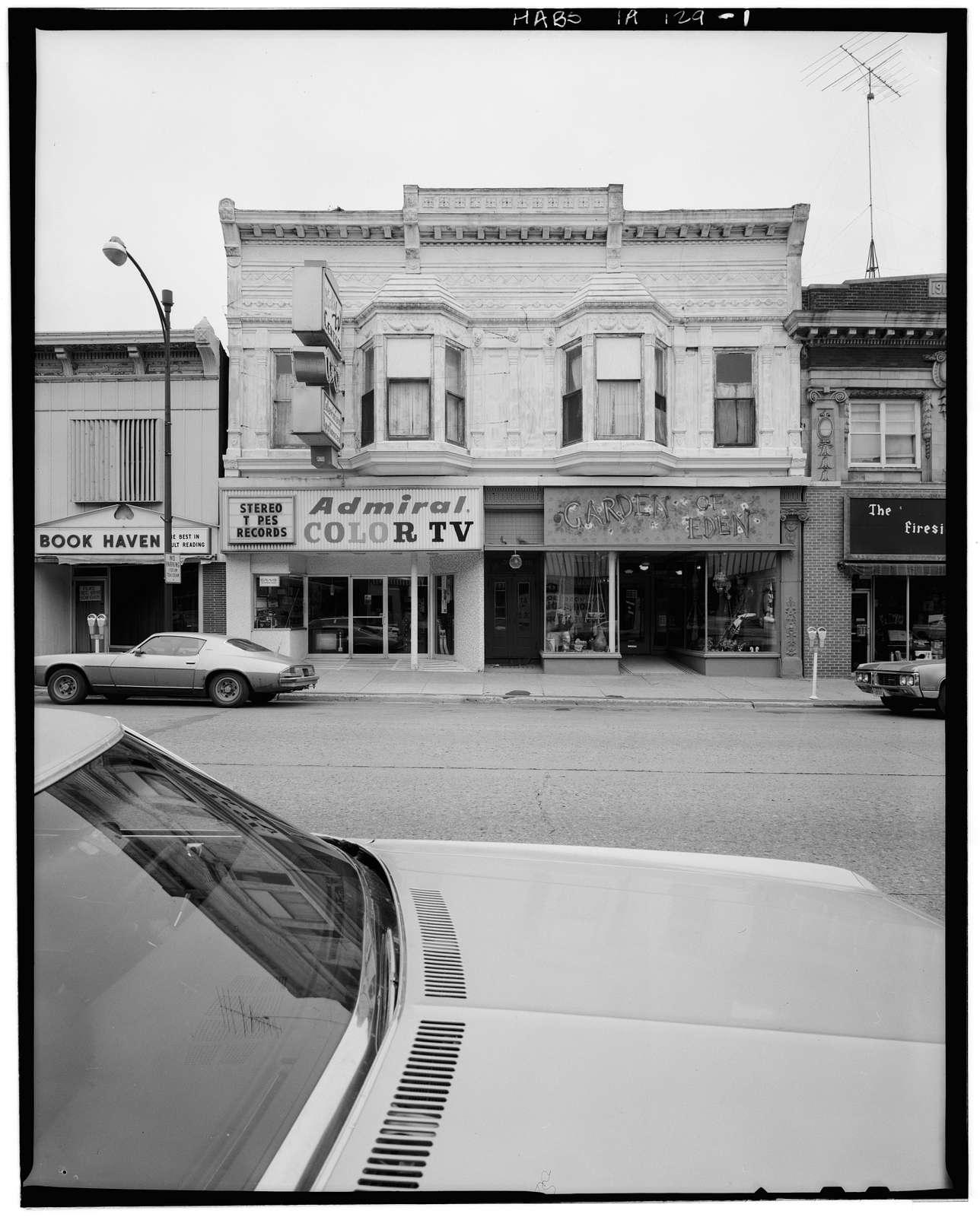 Zoller Block, 119-121 South Federal Avenue, Mason City, Cerro Gordo County, IA