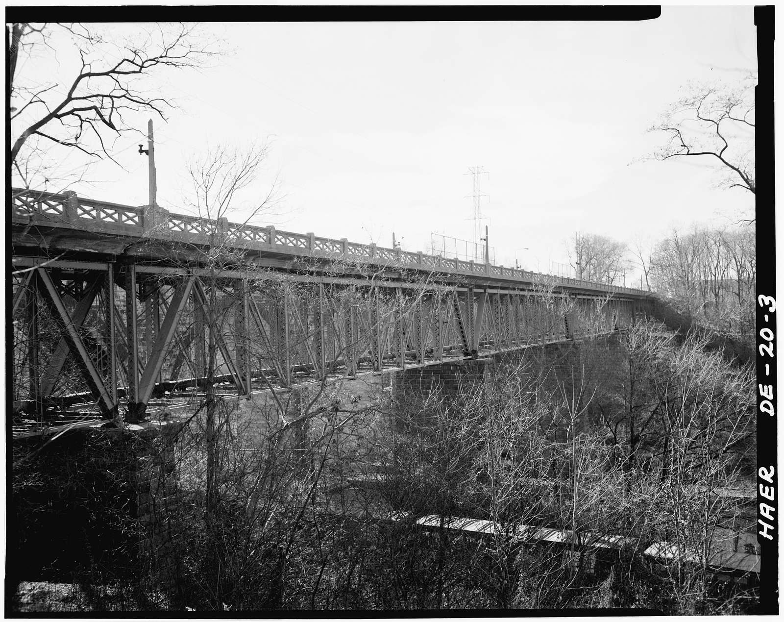 Augustine Bridge, Brandywine River,Augustine Cutoff, Wilmington, New Castle County, DE