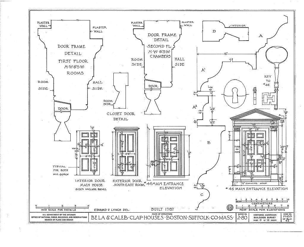 Bela & Caleb Clap House, 44-46 Temple Street, Boston, Suffolk County, MA