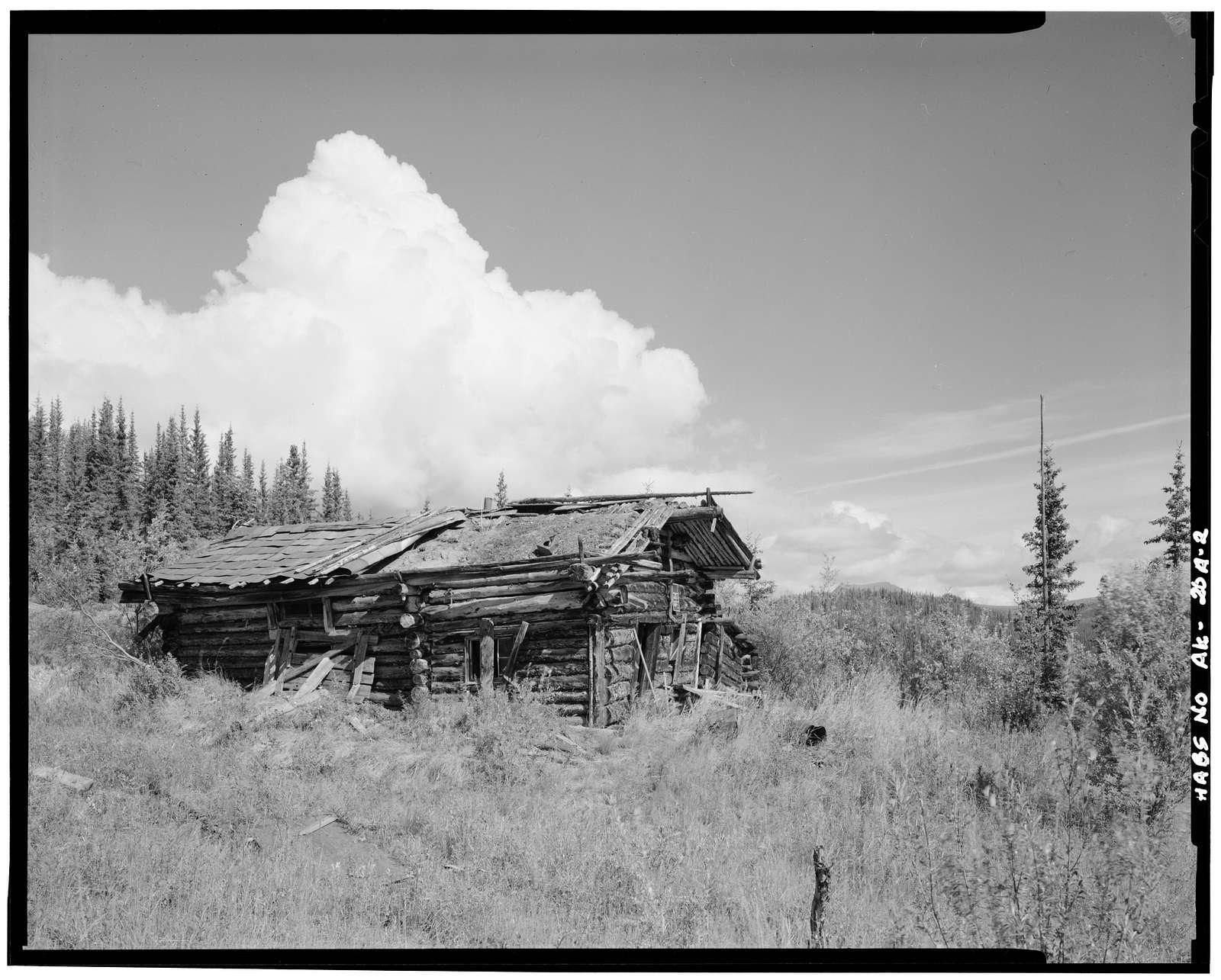 Charlie Yale Main Cabin, Glacier River near Nolan, Bettles, Yukon-Koyukuk Census Area, AK