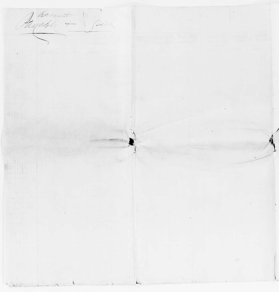Clara Barton Papers: Miscellany, 1856-1957; Estate of Clara Barton; Financial papers; Accounts, 1912-1923, undated