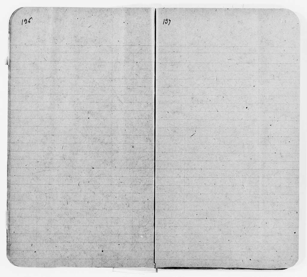 """Clara Barton Papers: Speeches and Writings File, 1849-1947; Books; """"The Life of My Childhood"""" (unpublished); Notes, including pay accounts for 1904-1905, 1904-1905, undated"""