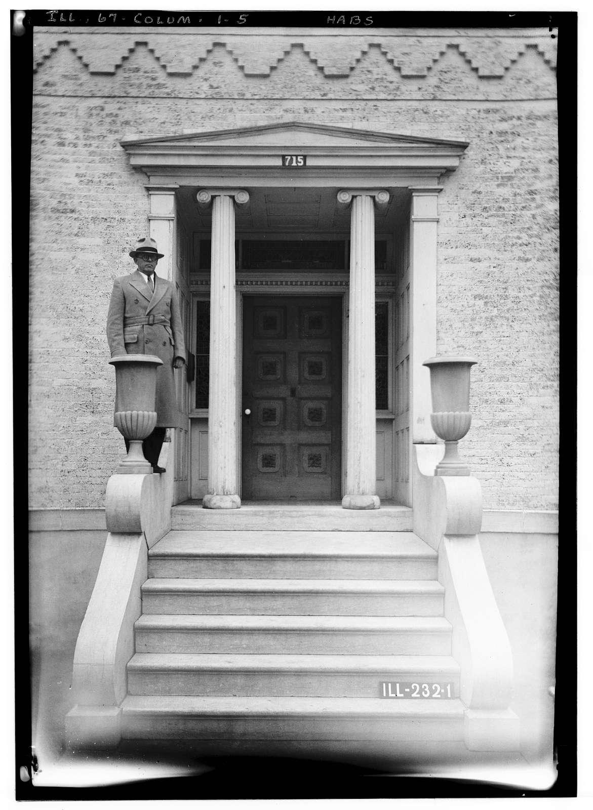Emelie Grosse House, Columbia, Monroe County, IL