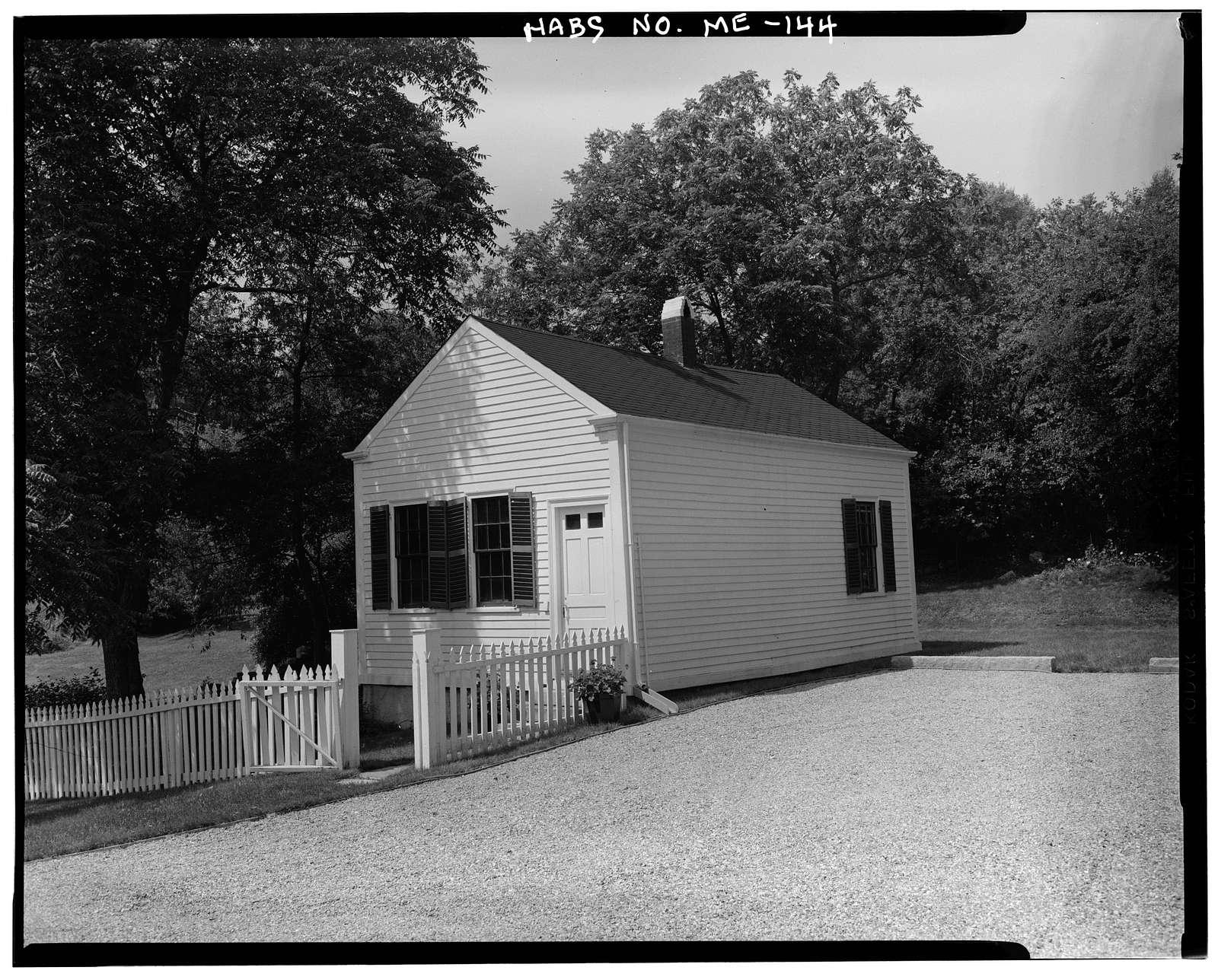 Governor John Hubbard House, 52 Winthrop Street, Hallowell, Kennebec County, ME