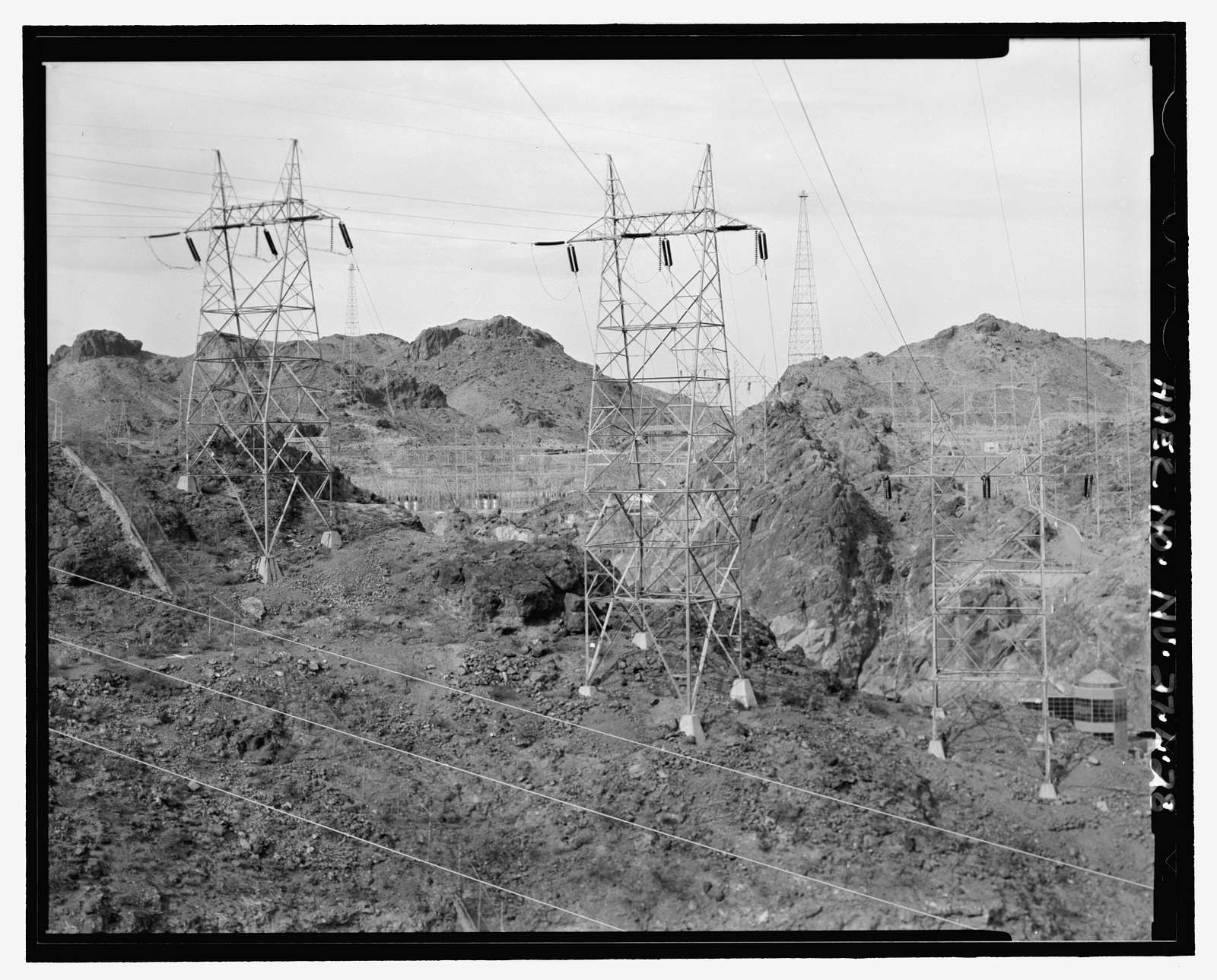 Hoover Dam, Circuits 1-15, U.S. Highway 93, Boulder City, Clark County, NV