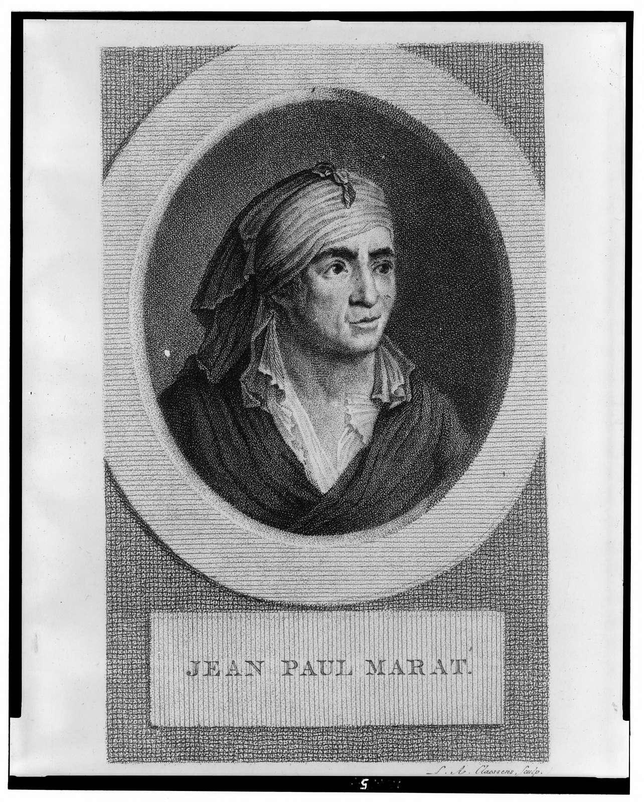 Jean Paul Marat / L.A. Claessens, sculp.