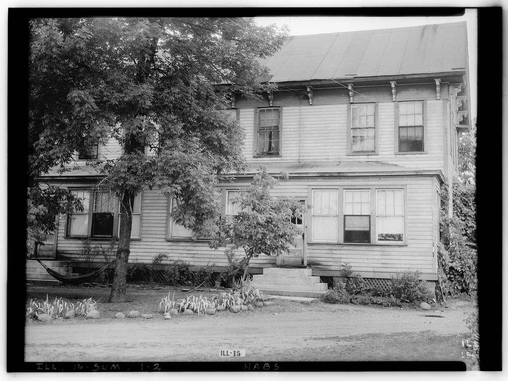 John Wentworth Farmhouse, Chicago, Cook County, IL