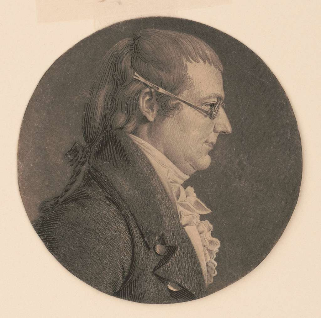 [Lawrence Muse, head-and-shoulders portrait, right profile]