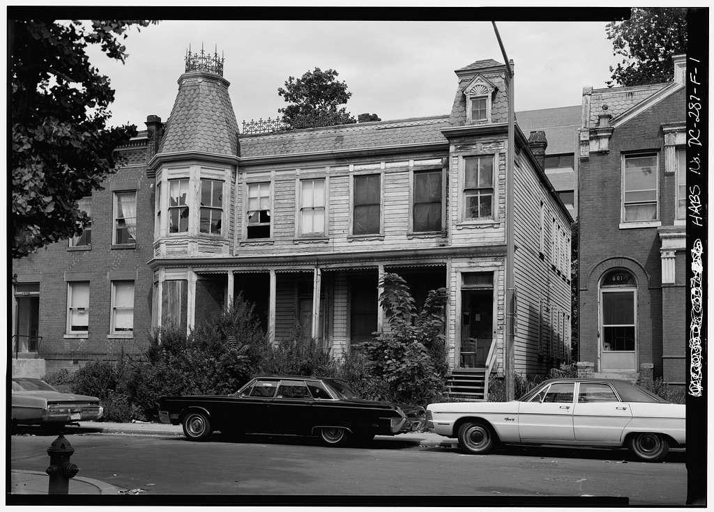 Le Droit Park, 603-605 U Street, Northwest (Houses), Washington, District of Columbia, DC