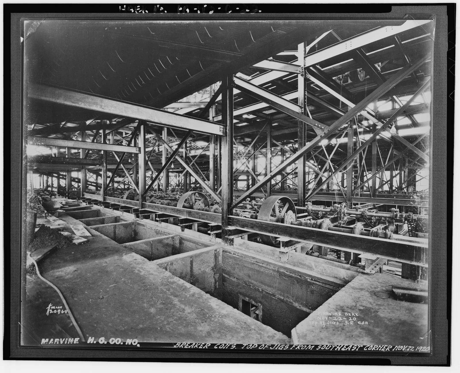 Marvine Colliery, Breaker No. 2, West side Boulevard Avenue, between East Parker Street & Route 380, Scranton, Lackawanna County, PA