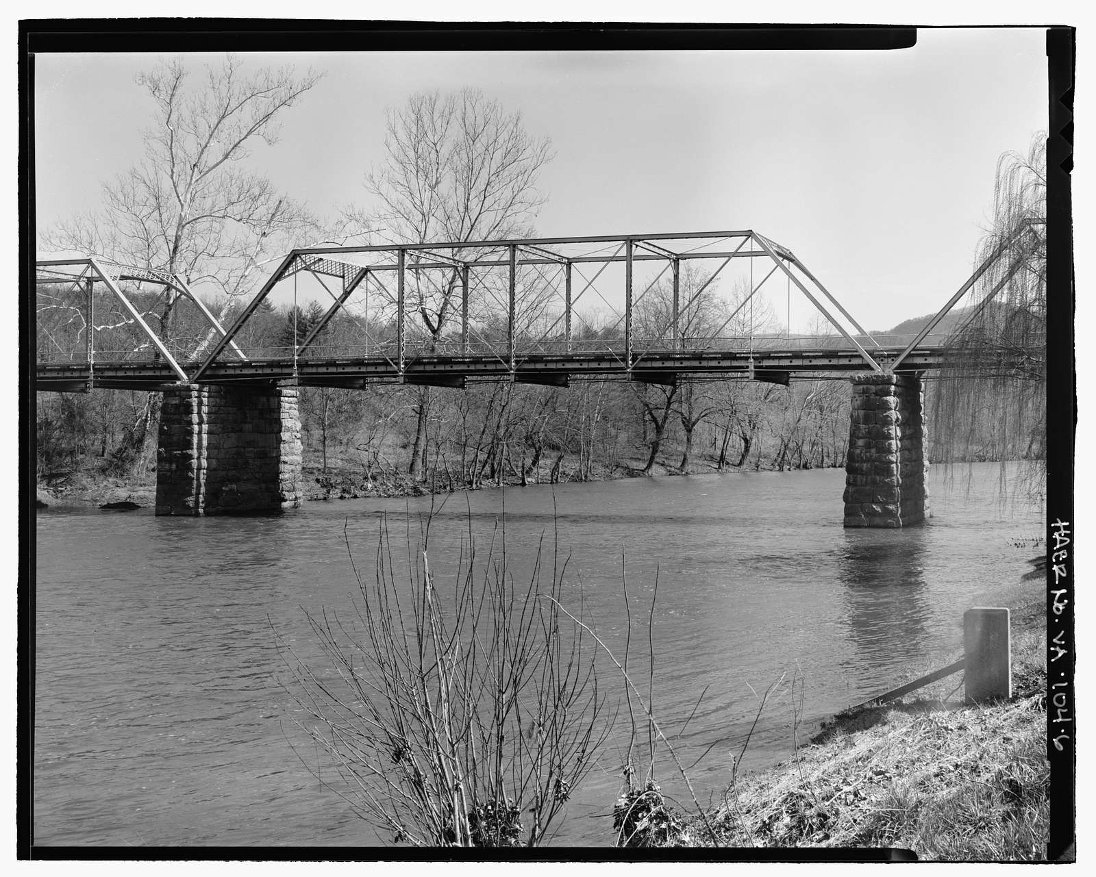 McPherson's Ford Bridge, State Route 633 over Cowpasture River, Clifton Forge, Alleghany County, VA
