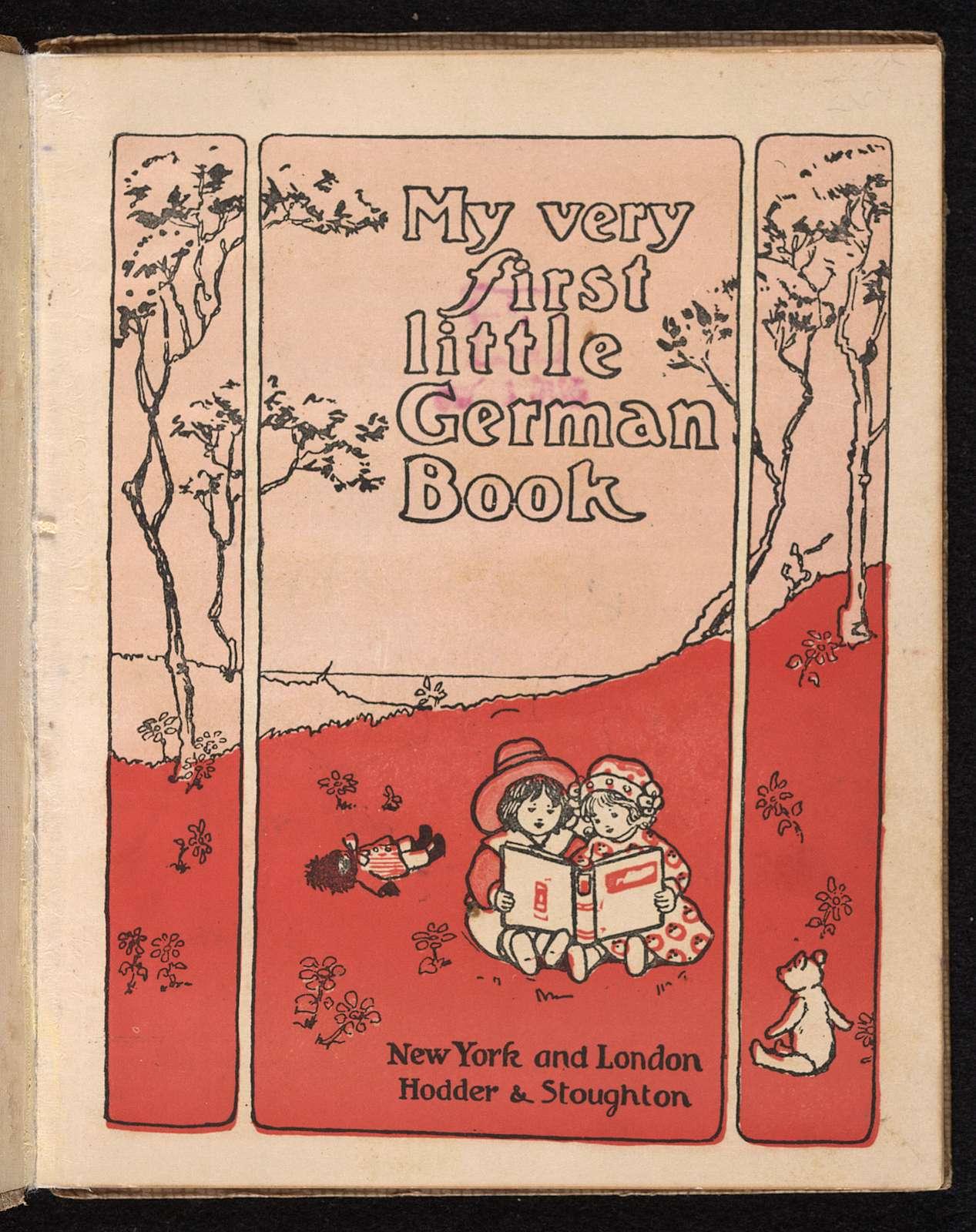 My very first little German book.