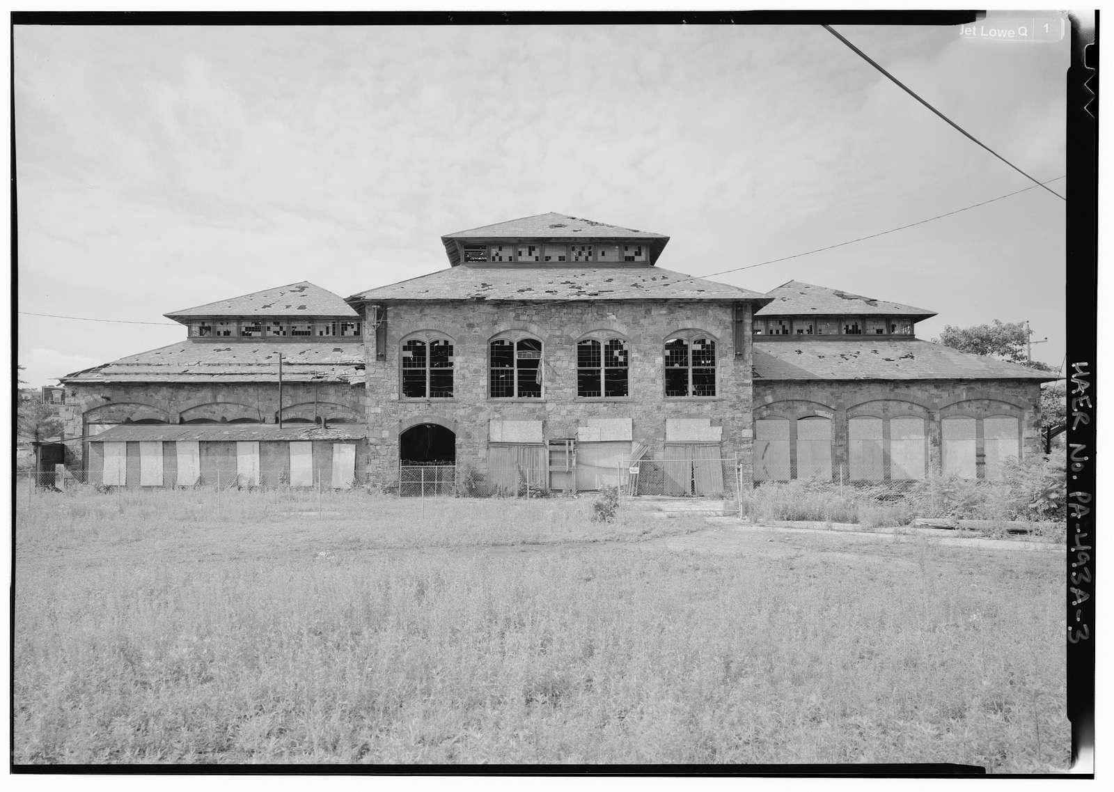 Phoenix Iron Company, Foundry Building, Main Street at Mill Street, Phoenixville, Chester County, PA