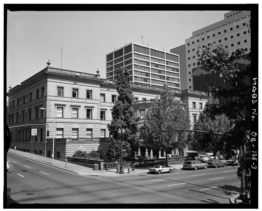 Portland City Hall, 1220 Southwest Fifth Avenue, Portland, Multnomah County, OR