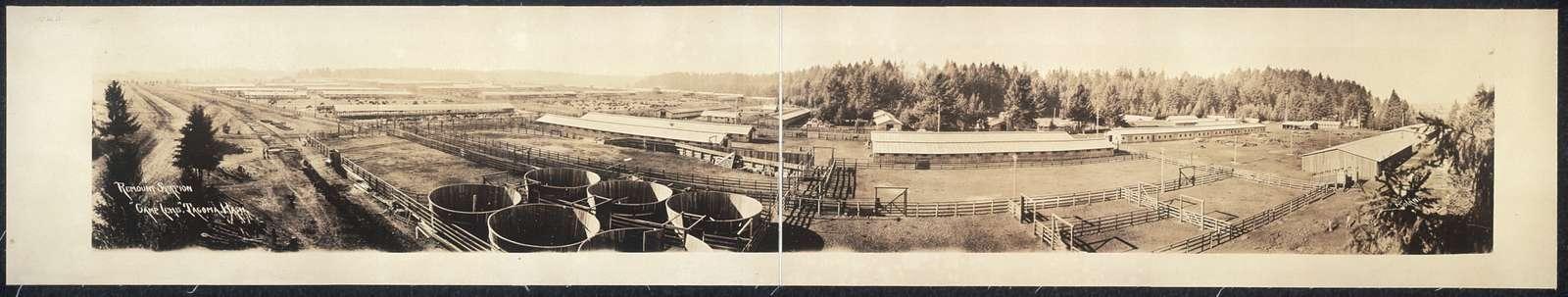 "Remount Station, ""Camp Lewis"", Tacoma, Wash."