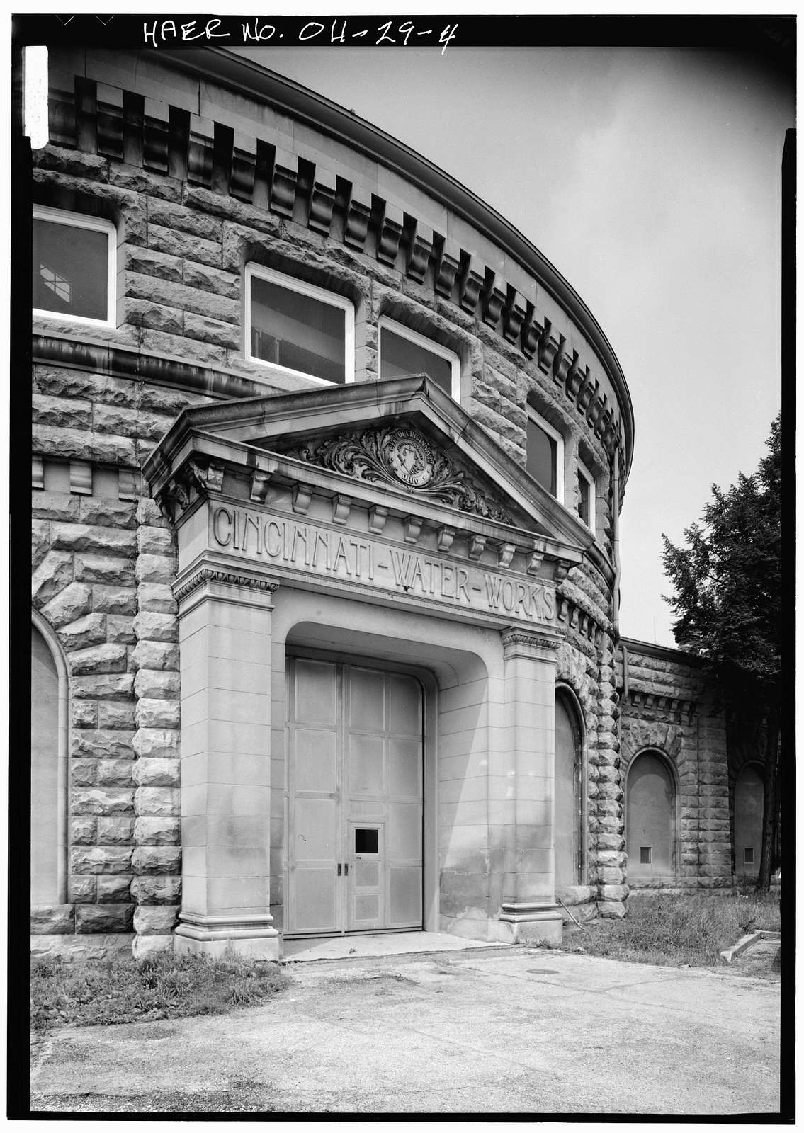 River Pumping Station, Cincinnati Water Works, 5800 Kellogg Avenue, California District, Cincinnati, Hamilton County, OH