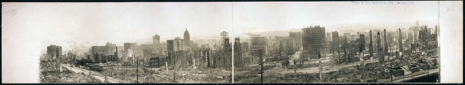 Ruins of San Francisco, Cal.