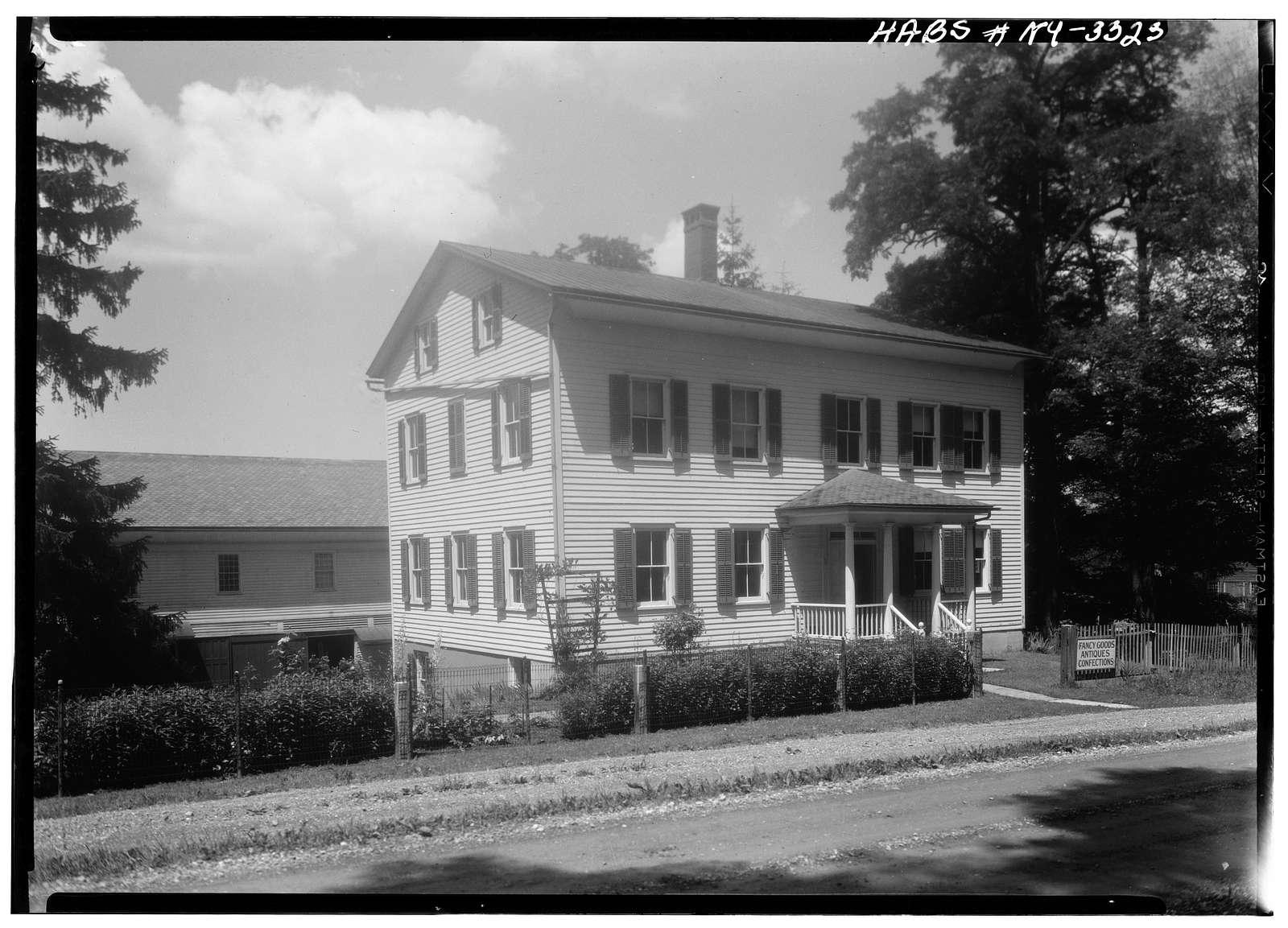 Shaker North Family Office & Store, Shaker Road, New Lebanon, Columbia County, NY