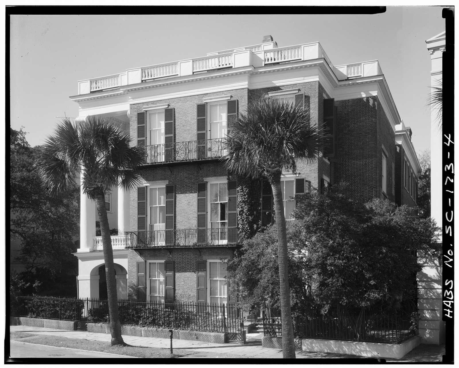 William Roper House, 9 East Battery Street, Charleston, Charleston County, SC