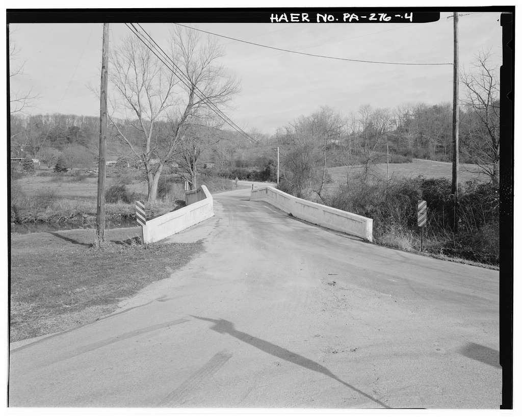York County Bridge No. 149, Pentland Road (T-370) over East Branch Codorus Creek, Jefferson, York County, PA