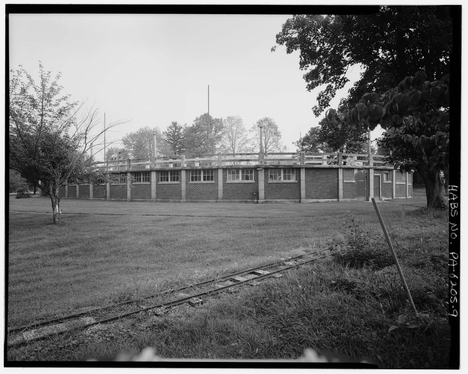 Bangor Park Swimming Pool, Bangor Memorial Park, Broadway at South Tenth Street, Bangor, Northampton County, PA