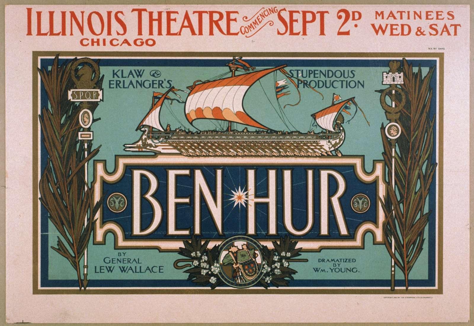Ben-Hur Klaw & Erlanger's stupendous production.