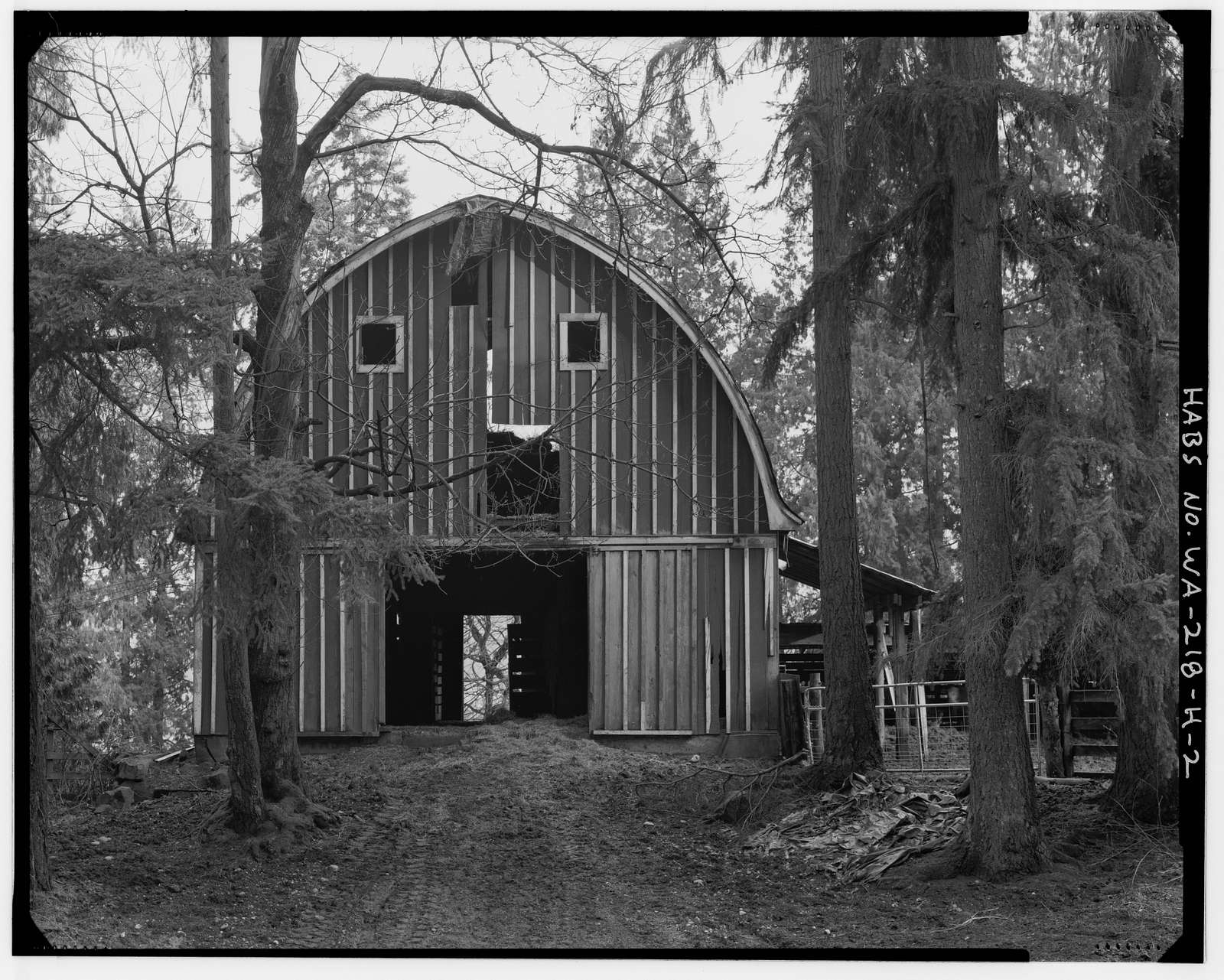 Boone-Truly Ranch, Horse Barn, 11119 Northeast 185th Street, Bothell, King County, WA