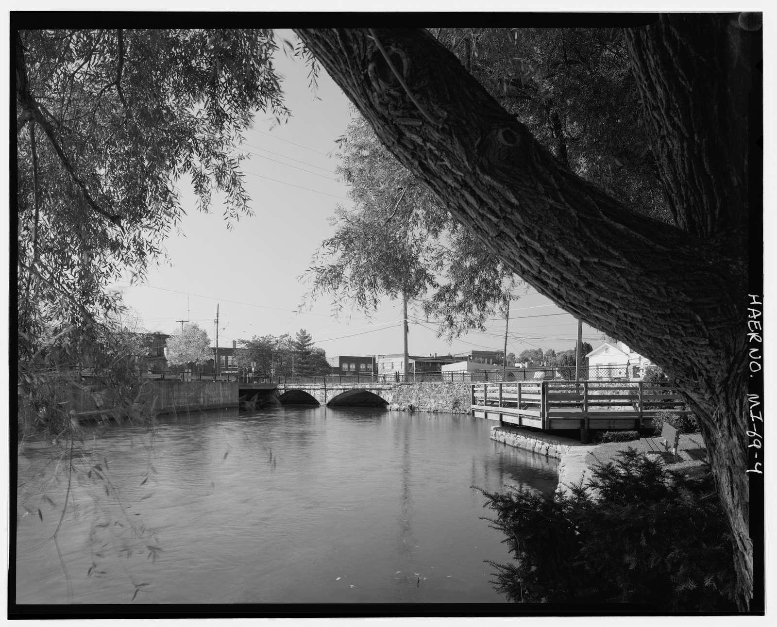 East Cass Street Bridge, Spanning Kalamazoo River, Albion, Calhoun County, MI