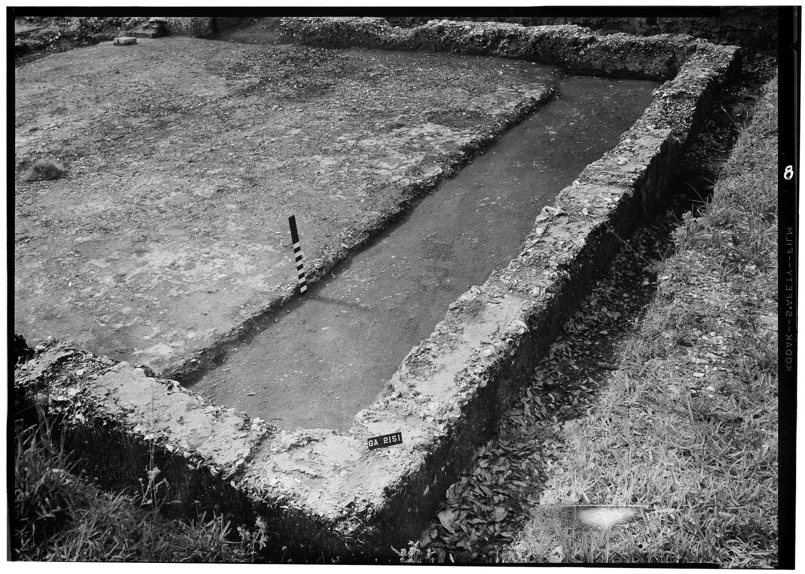 Fort Frederica, Welch House (Ruins), Lot No. 5, South Ward, Saint Simons Island, Glynn County, GA