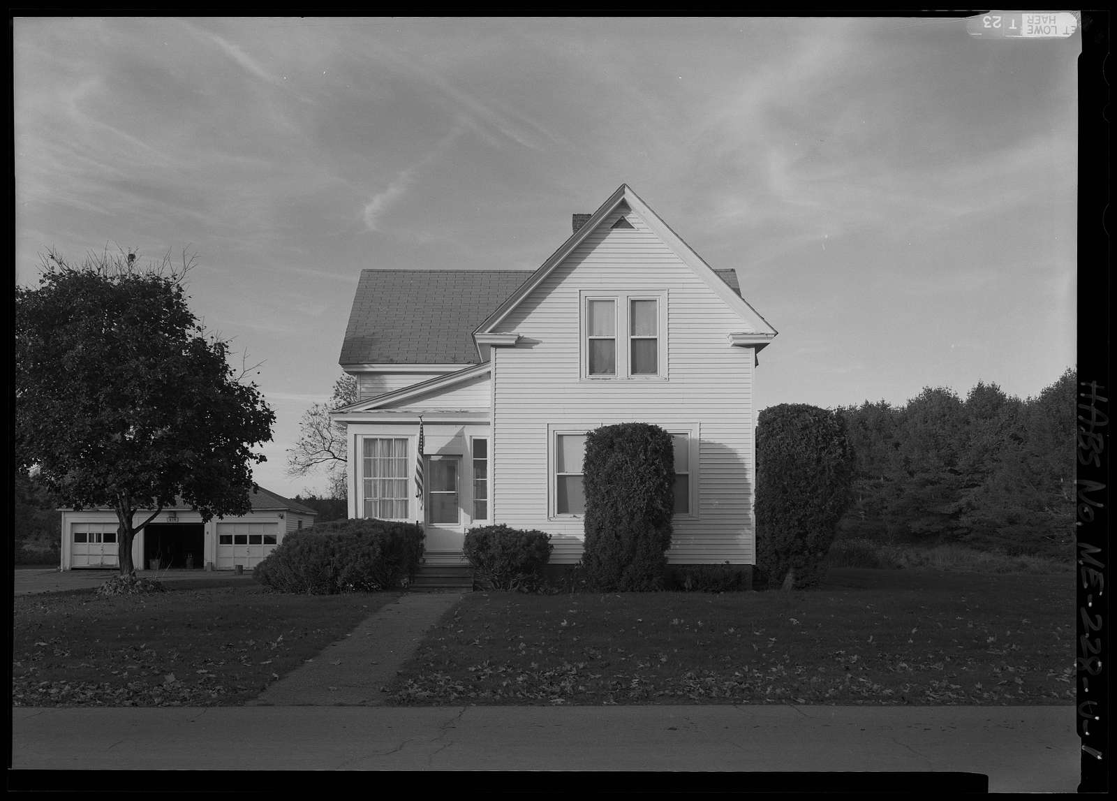 National Home for Disabled Volunteer Soldiers, Eastern Branch, Single Quarters, 1 VA Center, Augusta, Kennebec County, ME