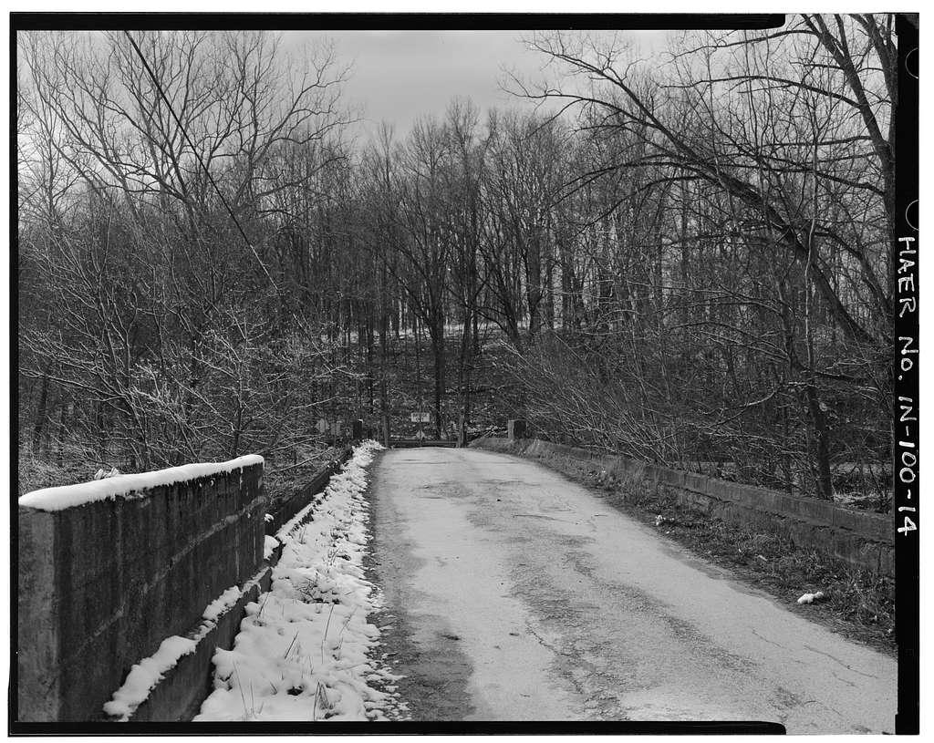 Putnam County Bridge No. 111, Spanning Little Walnut Creek on County Road 50, Greencastle, Putnam County, IN