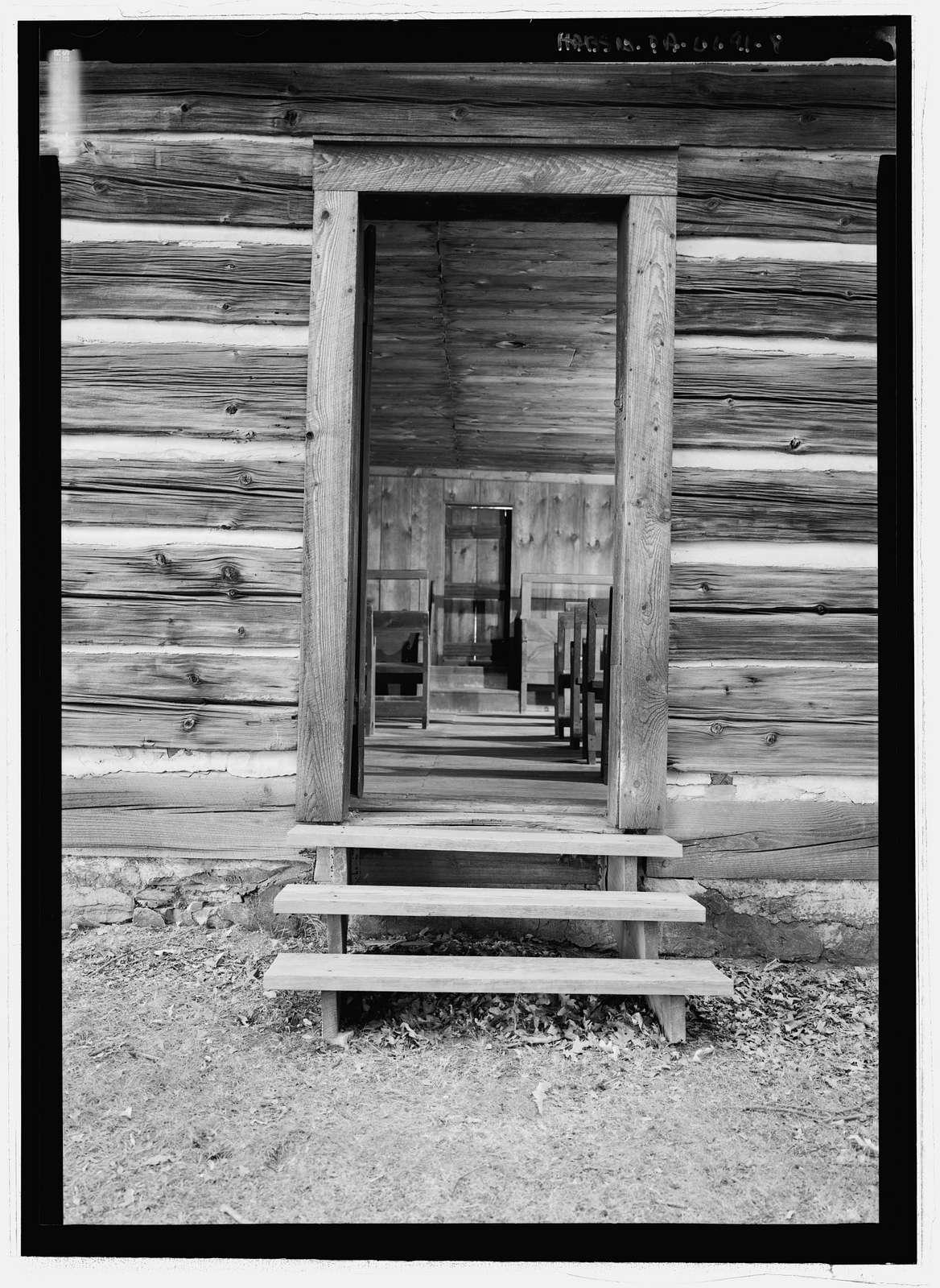 Roaring Creek Friends Meeting House, Quaker Meeting Road, Numidia, Columbia County, PA
