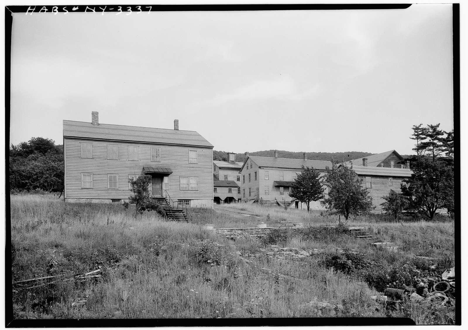 Shaker Centre Family (General View), Shaker Road, New Lebanon, Columbia County, NY