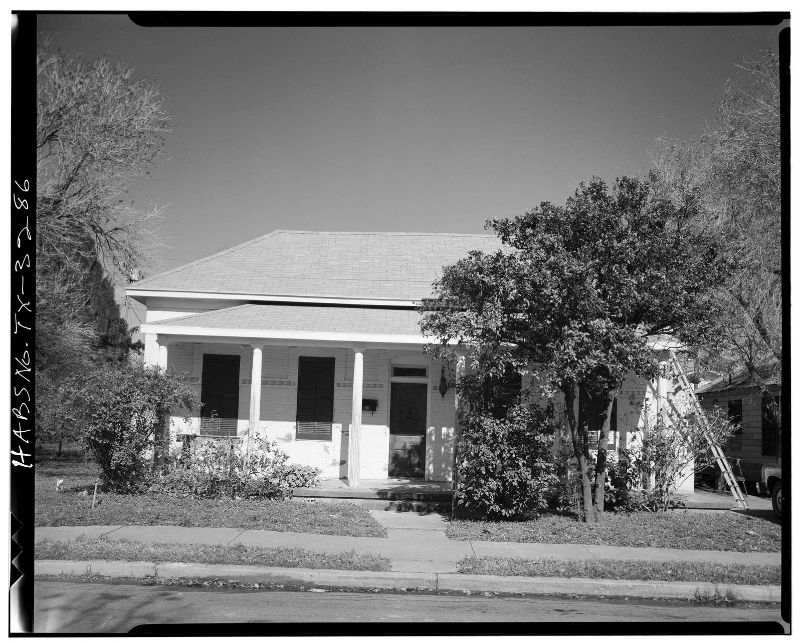 Tomas Tijerina House, 333 East Adams Street, Brownsville, Cameron County, TX
