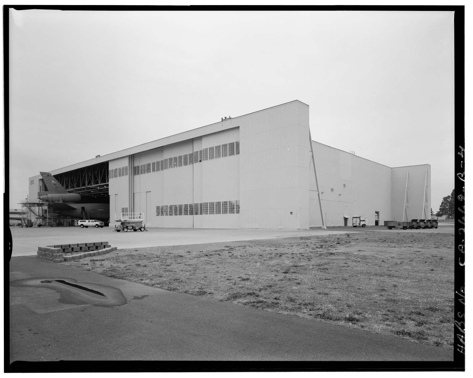 Travis Air Force Base, B-36 Hangar, Between Woodskill Avenue & Ellis, adjacent to Taxiway V & W, Fairfield, Solano County, CA