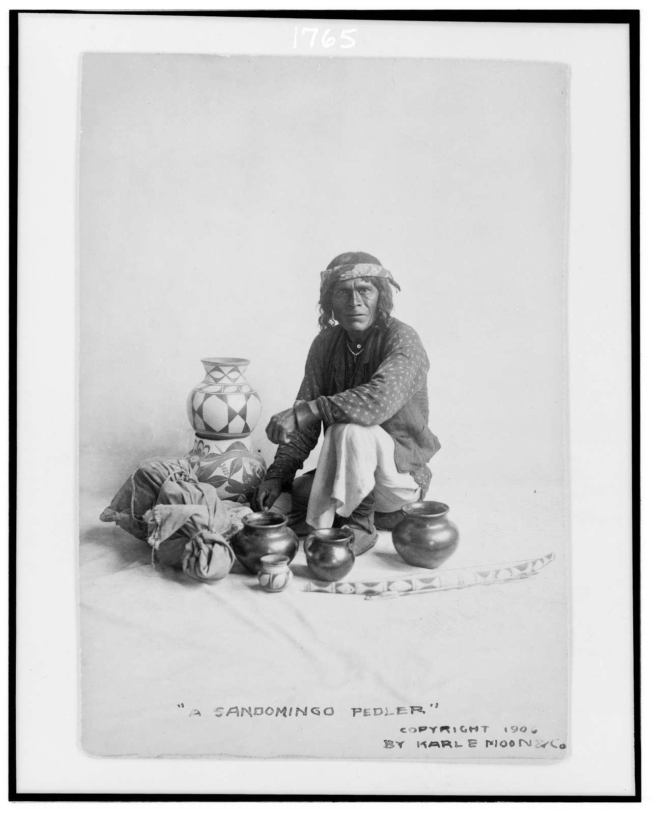 A Sandomingo pedler [i.e. Santo Domingo peddler]