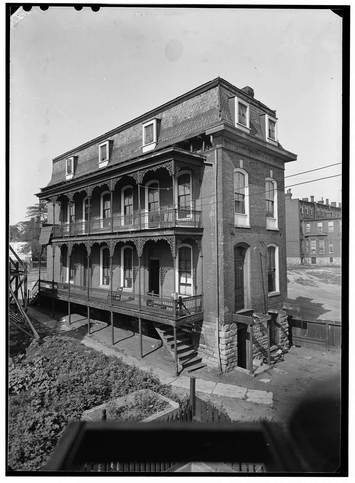 Bacon House, 1131 Morrison Avenue, Saint Louis, Independent City, MO