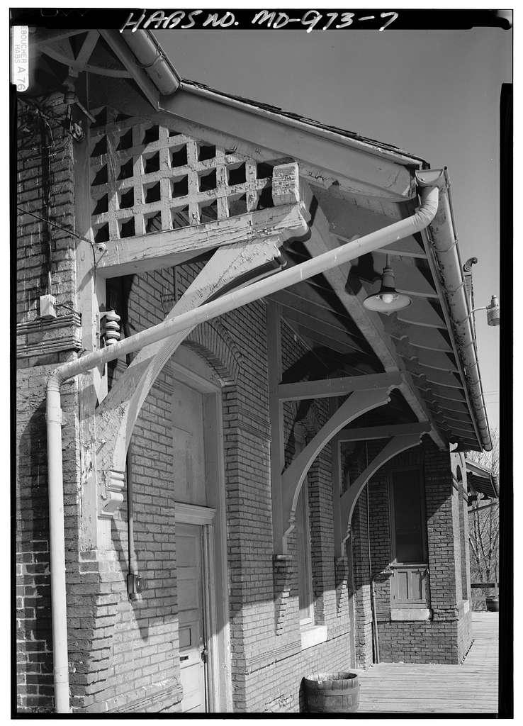 Baltimore & Ohio Railroad Station, Laurel, 101 Lafayette Avenue, Laurel, Prince George's County, MD