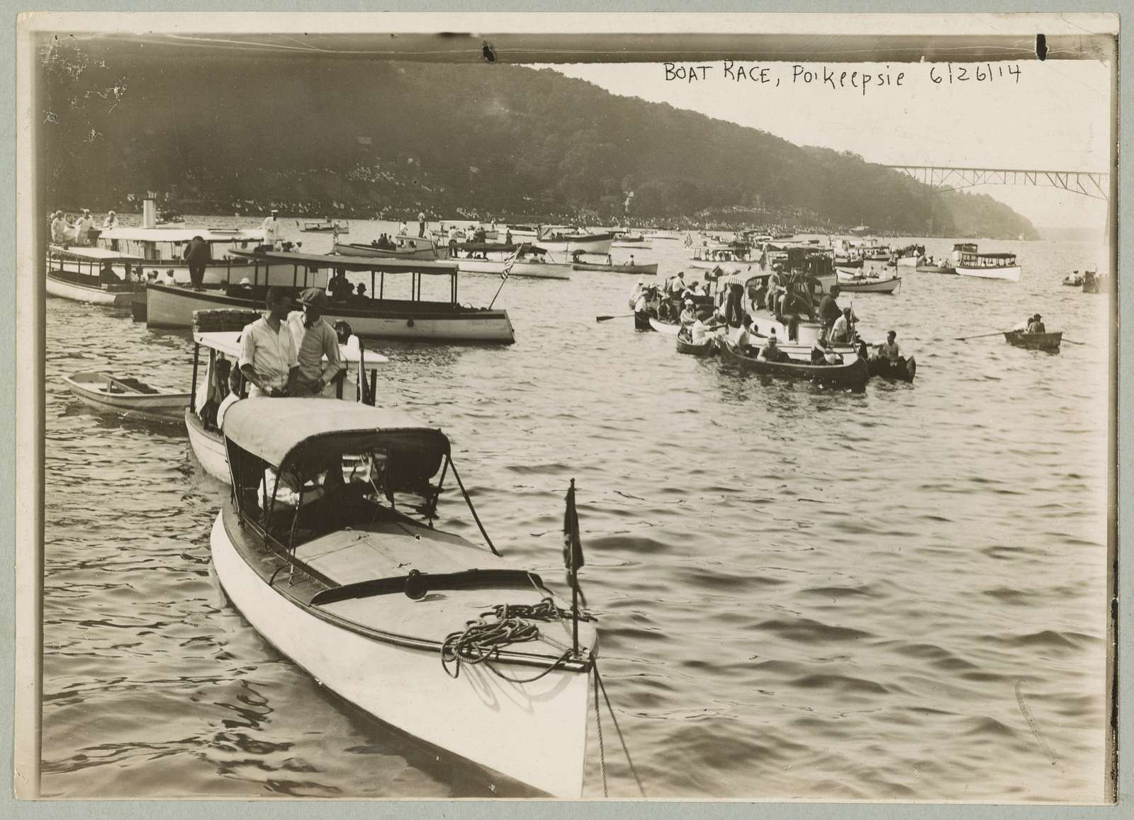 Boat race, Po'keepsie 6/26/14