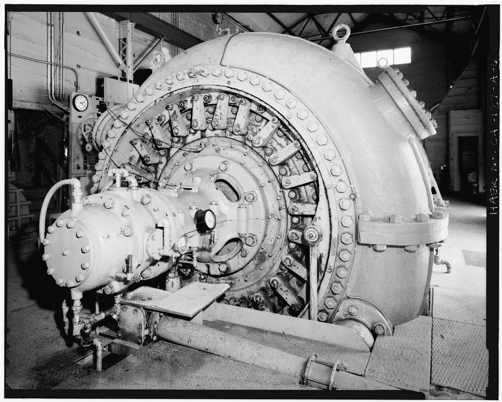 Centerville Hydroelectric System, Powerhouse, Butte Creek, Centerville, Butte County, CA