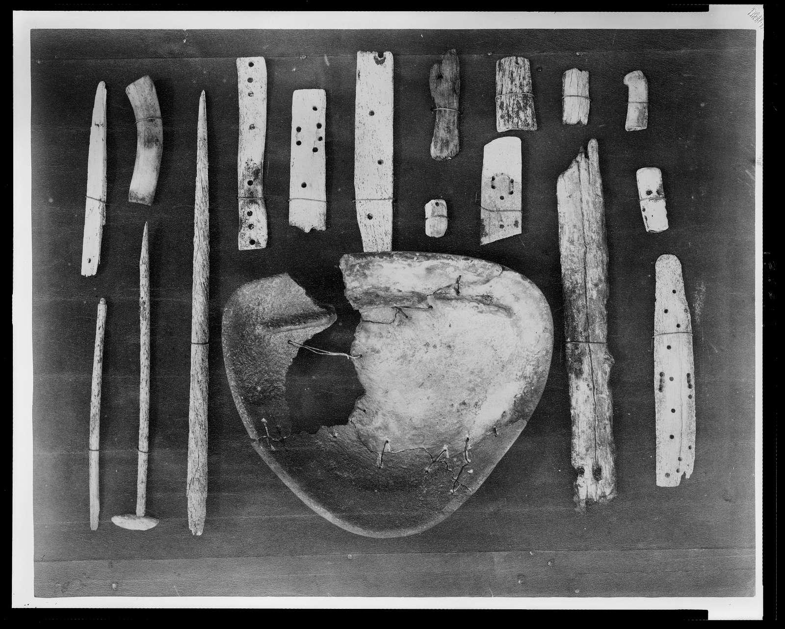 Eskimo relics found at Cape Band