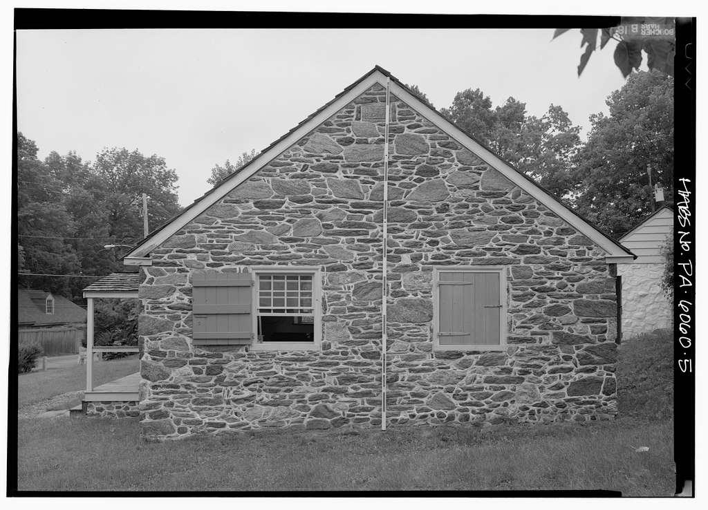 Federal School House, End of Allgates Drive (Haverford Township), Havertown, Delaware County, PA