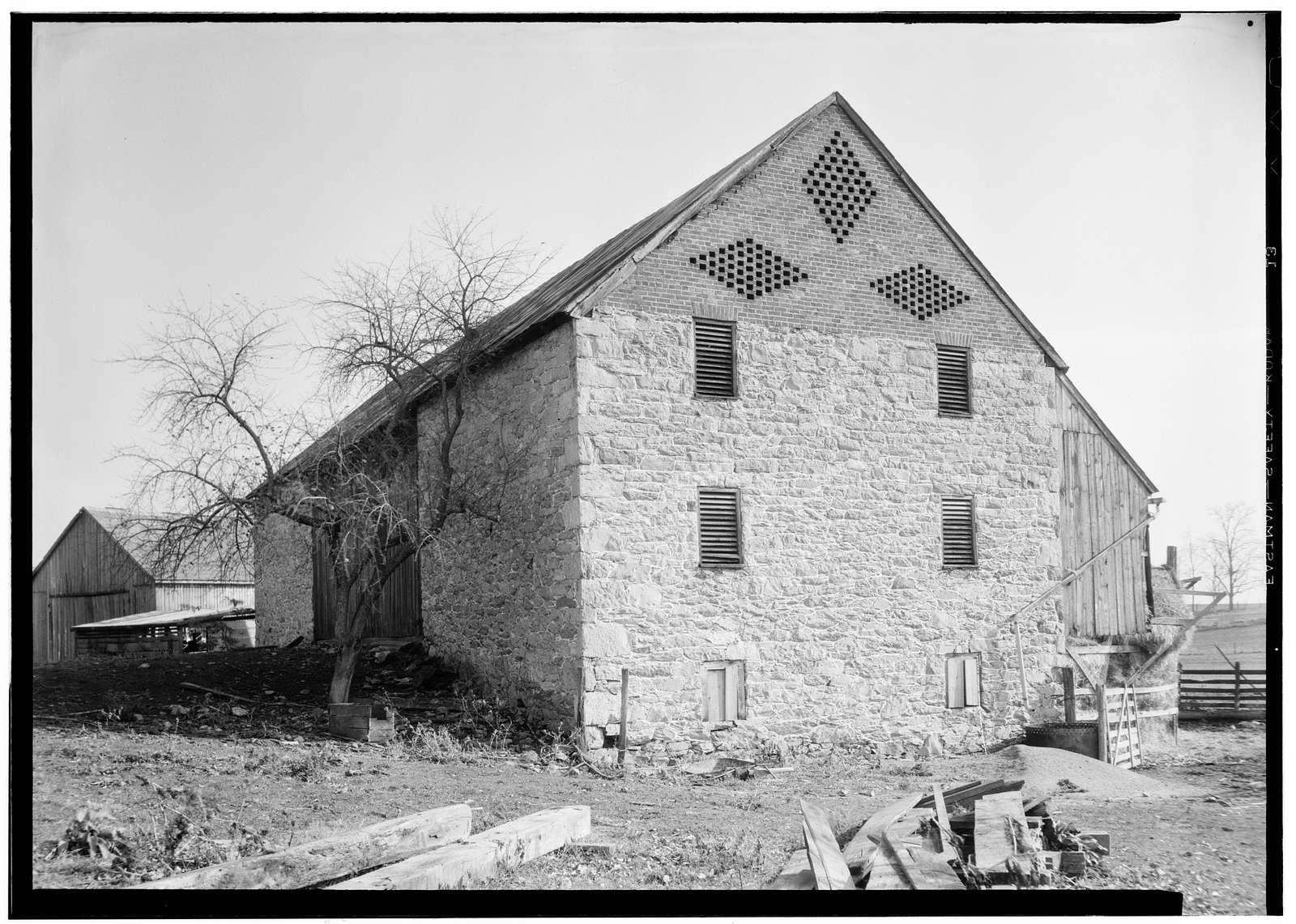 Hilliard's Farm Barn, Shepherdstown, Jefferson County, WV
