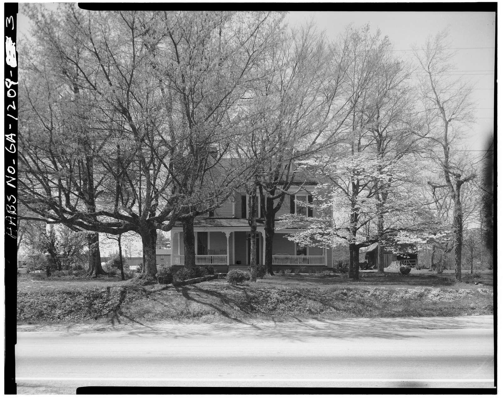 James Berrien Upshaw Homeplace, U.S. Route 78 & County Road 56 (New Hope Church Road), Between, Walton County, GA