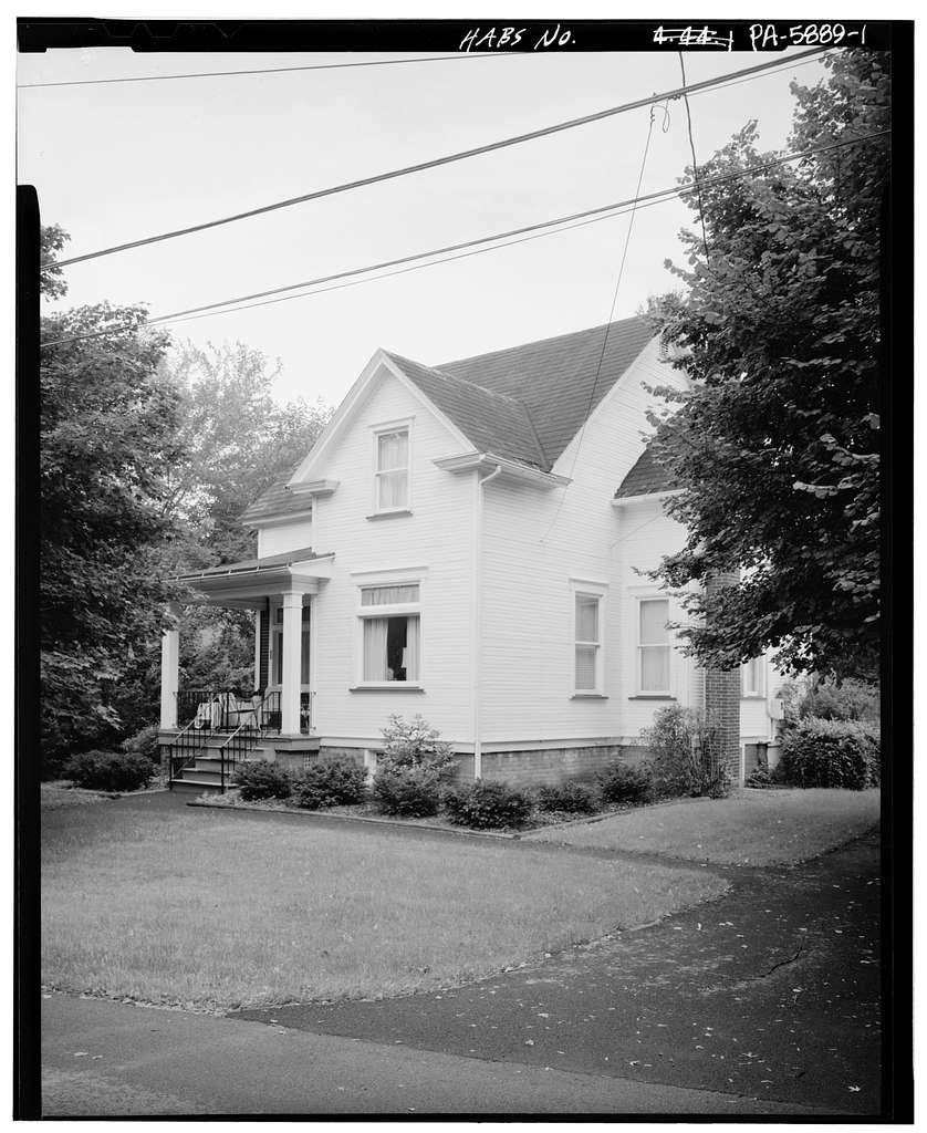 Joseph L. & Catherine Kirk House, 101 Halleck Place, Altoona, Blair County, PA