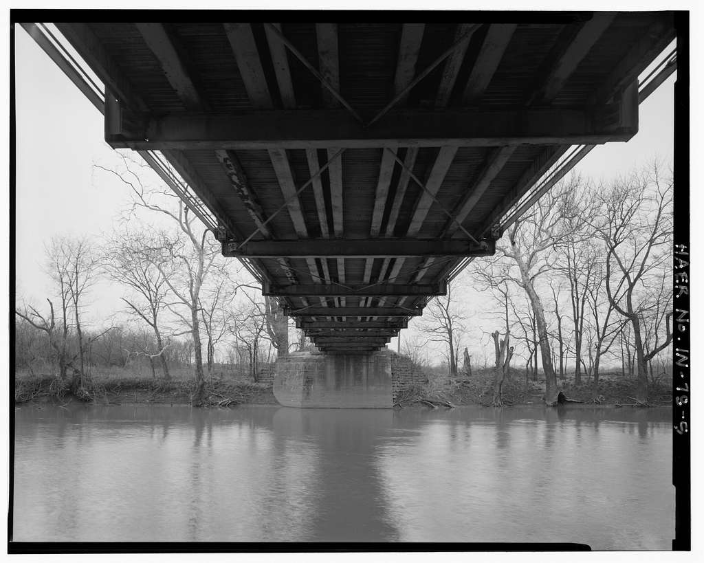 Kidner Bridge, Spanning Mississinewa River at County Road 700 South, Upland, Grant County, IN